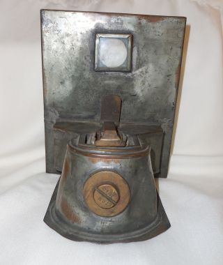 Antique Nautical Lantern/lamp Oil Burner Telford,  Grier & Mackay,  1915,  Glasgow photo