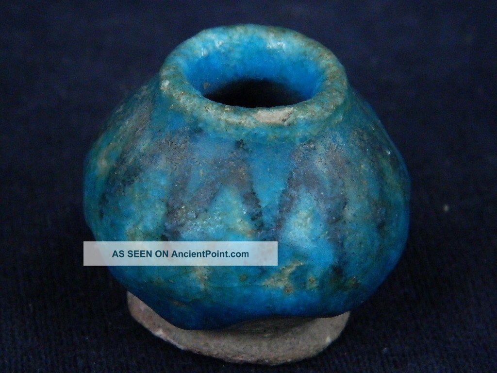 Ancient Glazed Pot Islamic 1100 Ad Pt674 Near Eastern photo