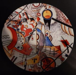 Sowjet Russian/soviet Propaganda Porcelain Plate Avantgarde Art Communist Sun photo