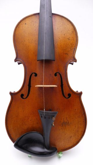 Schuster Jun.  Markneukirchen Antique Old Violin Violin0 Violine Viola German photo