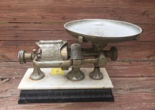 Antique Dodge Scale Company The Micrometer 5lb Balance All Accurate Nr photo