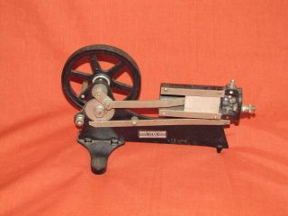 W M Welch Scientific Co.  Hand Crank Gasoline Engine Demo Cut Away Model - photo