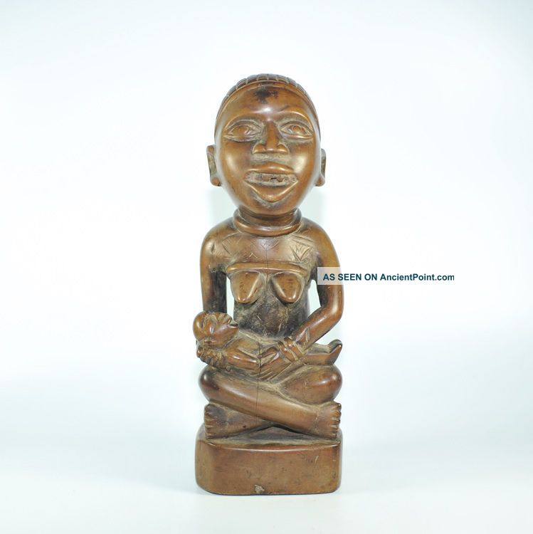 Fine Yombe Phemba Figure - Dem.  Rep.  Of Congo Sculptures & Statues photo