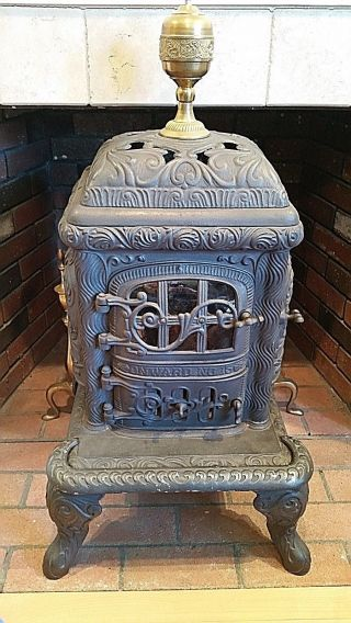 Vintage,  Antique Cast Iron Stove,  Fuller Warren Company,  Onward No.  15 photo