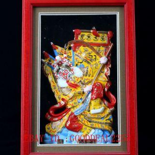 Chinese Lacquer Handmade Qi Tian Da Sheng Statue Qw0279 photo