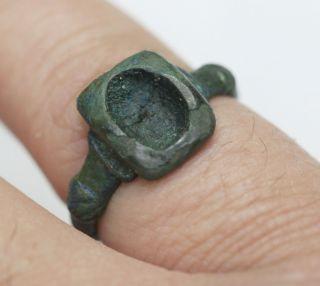 Viking Bronze Finger Ring photo