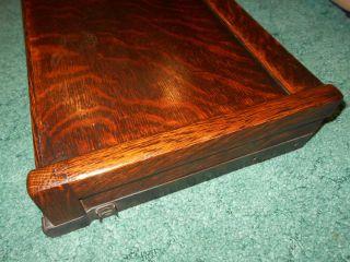 Antique Quartersawn Oak Globe Barrister Bookcase Size D Cap/original Finish Nr photo