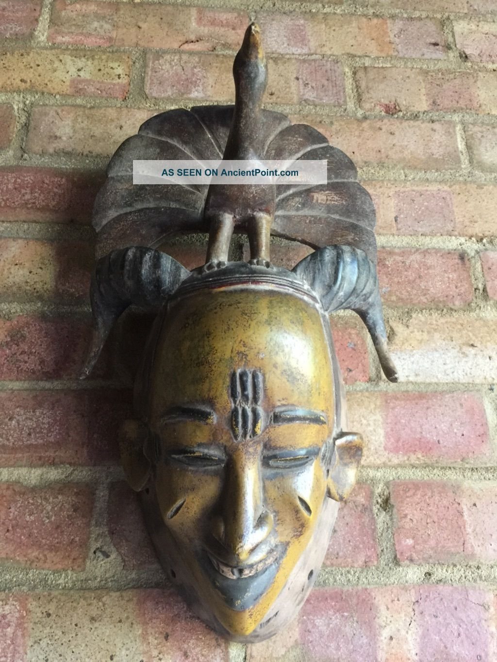 African Guru Mask Other African Antiques photo