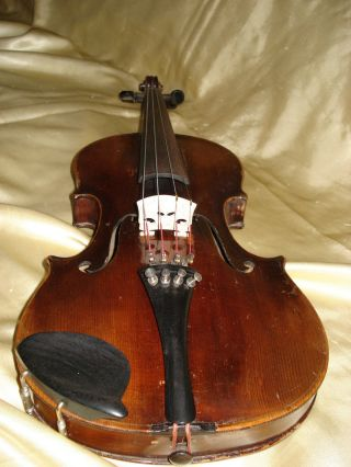 Old 4/4 Violin From Germany Ca.  1920 photo