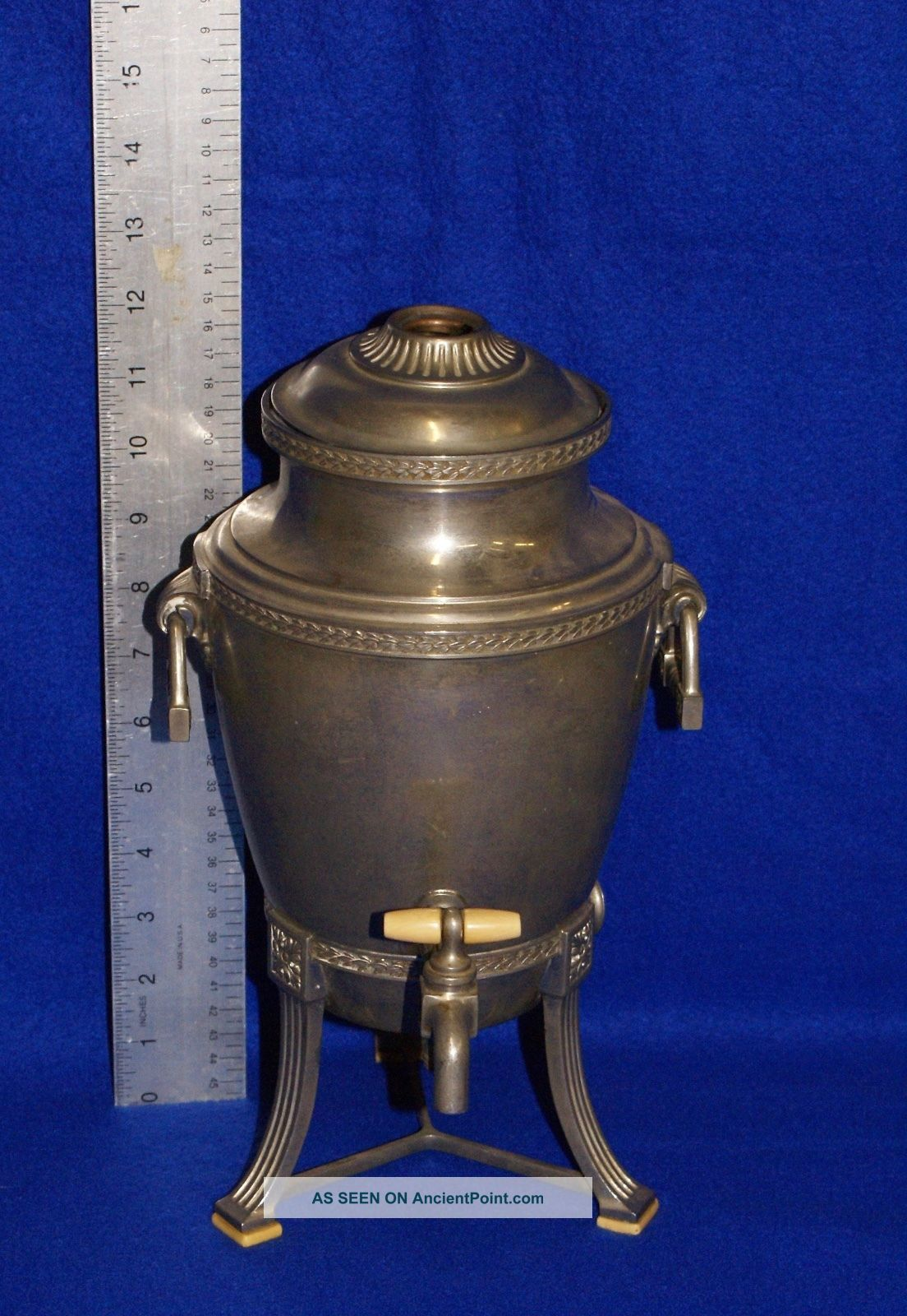 1914 Universal Silver - Plated Electric Coffee Maker From Landers Frary And Clark Other Antique Home & Hearth photo