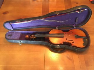 1920 J.  A.  Baader Violin.  Good Shape And Been In The Family Since Bought. photo
