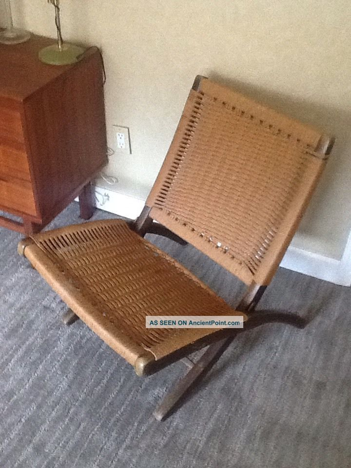 For vintage hans wegner folding chair labour