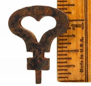 Vintage Iron Skeleton Key 1 - 1/4