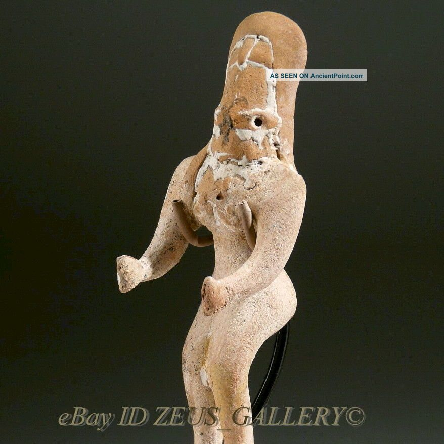 Indus Valley Idol Pottery Female Fertility Figure 2600 Bc Early Bronze Age Near Eastern photo