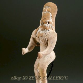 Indus Valley Idol Pottery Female Fertility Figure 2600 Bc Early Bronze Age photo