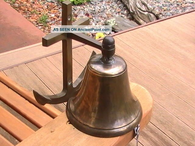 Brass Nautical Marine Ship Bell 4 3/4