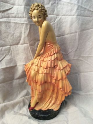 Vintage Leonardi Figure Rare Model 170 Plaster Chalkware Order photo