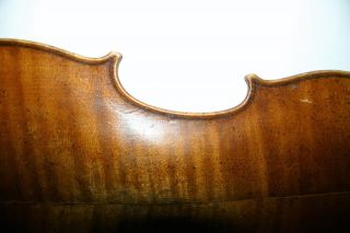 Old Antique Well Played Abused French 4/4 Violin Caussin 1880 Repair photo