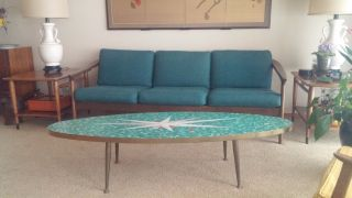 Mid Century Danish Modern Sofa photo