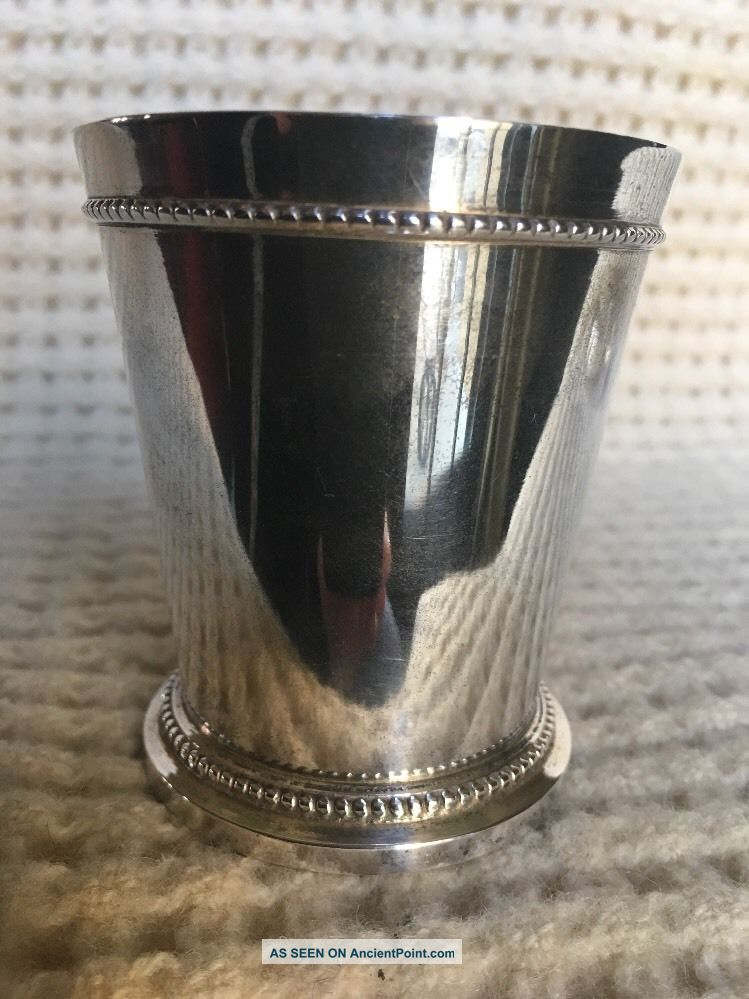 3.  13 Weight 4 Ounce Silverplate Julep Cup Cups & Goblets photo