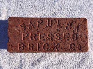 Near Sapulpa Pressed Brick Co.  Sapulpa,  Oklahoma Brick photo