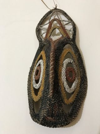 Aboriginal Papua Guinea Yam Mask Png Abelam Woven Mask Tribal photo