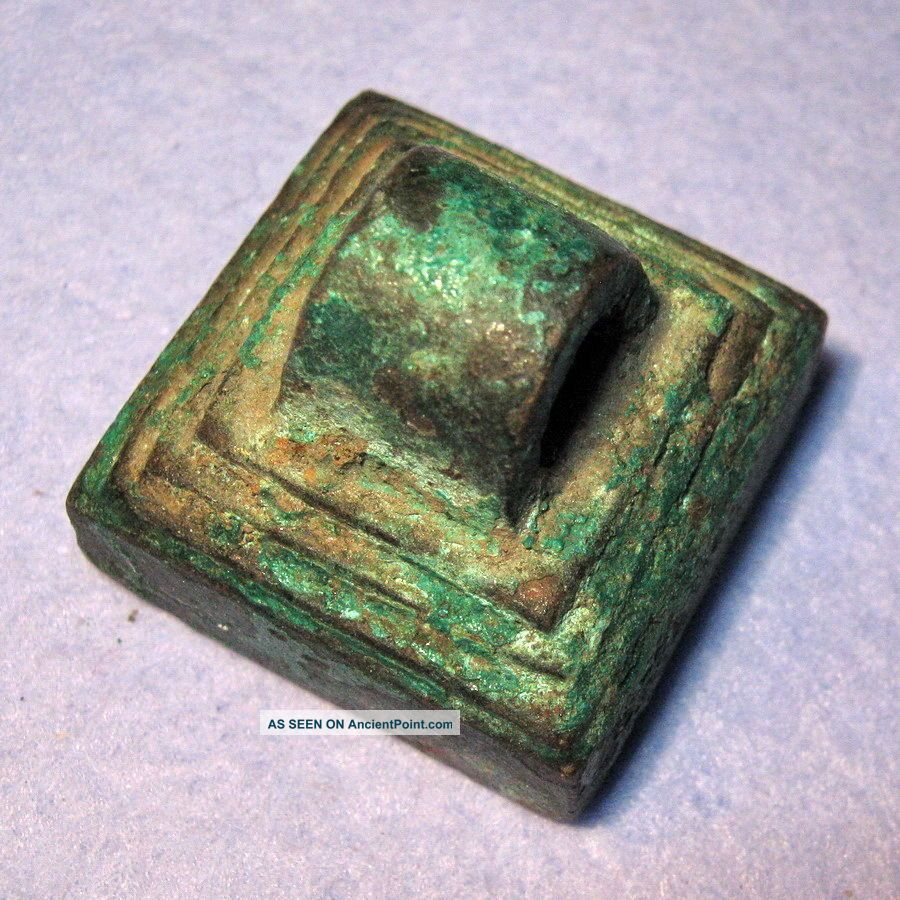 Ancient China Han Dynasty Official Seal Of Seal Of Military City 206 Bc - 220 Ad Chinese photo