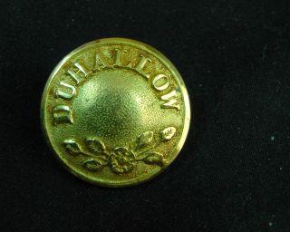 Duhollow Hunt Club Ireland Early 20th C.  23mm Gilt Button Firmin photo