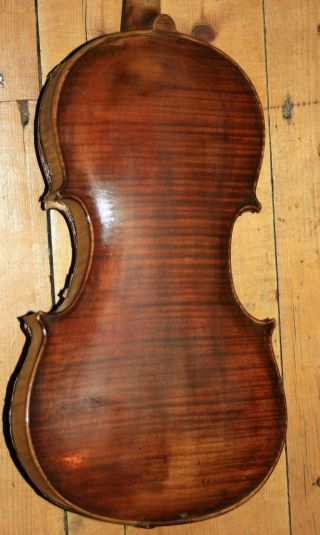Old Antique Full Size English Violin Walter Ashton 1931 photo