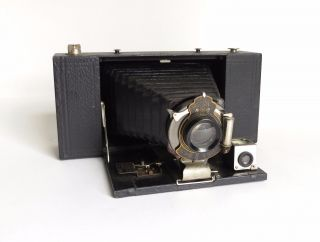 Antique Kodak No.  3 - A Folding Brownie Camera Model A - Parts photo