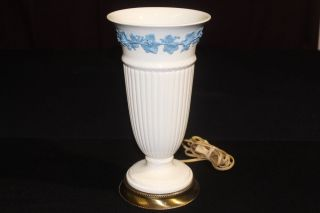 1960 ' S Wedgwood Creamware Uplight Lamp; Wilmar Lamp Co. photo