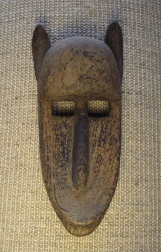 1st West Africa Tribal Mask Wall Art,  C.  1960,  12