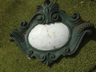 Vintage Wall Plaque/sign - Cast Iron 18