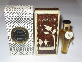 Vintage Guerlain Mitsouko Perfume Bottle & Boxes,  1/4 Oz - 7.  5 Ml Full 4 photo