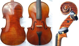 Fine 4/4 Old Italian Violin R.  Giovanni C.  19.  Old Tiger Wood 小提琴 СКРИПКА Geige photo