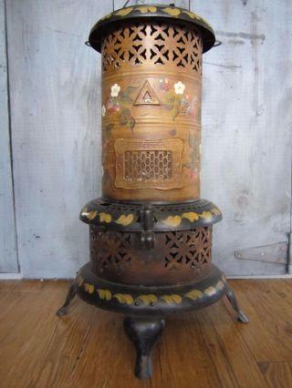 Vintage Perfection 1550 Smokeless Oil Kerosene Heater Hand Painted Made In Usa photo