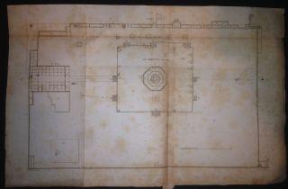 Palestine Israel Jerusalem Al Aqsa Mosque 6 Plan Ali Bey 1815 photo