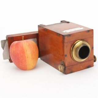 A Rare Victorian Telescope Camera By Troughton & Simms,  London - Mahogany Brass photo