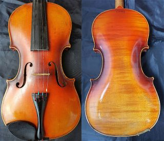 Fine 4/4 Old German Steiner Violin Old Wood 小提琴 СКРИПКА Geige photo