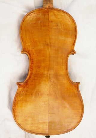 Antique Hungarian Violin Bergmann Andras Budapest 1901 photo