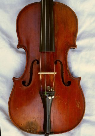 Antique French Violin Copie De Antonius Stradiuarius.  1721 photo