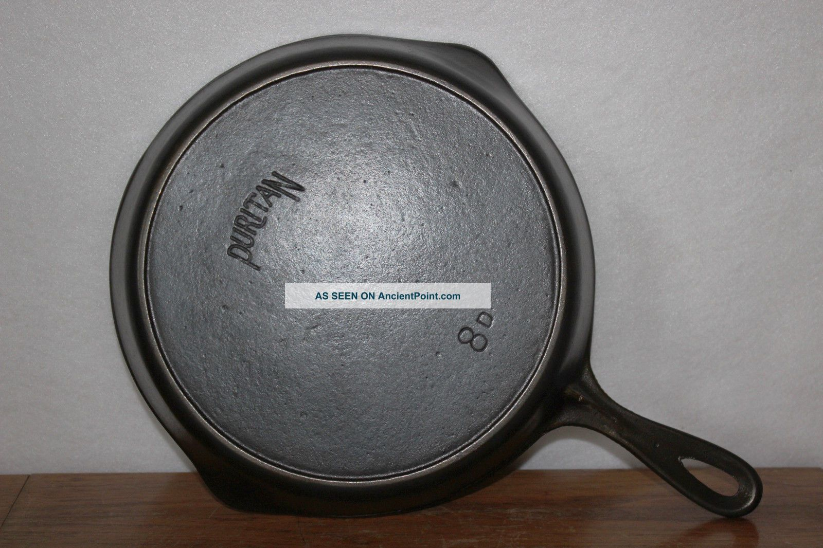 1916 - 1934 Favorite Stove & Range Co.  Puritan 8 D Cast Iron Skillet Heat Ring Other Antique Home & Hearth photo