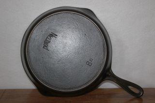 1916 - 1934 Favorite Stove & Range Co.  Puritan 8 D Cast Iron Skillet Heat Ring photo
