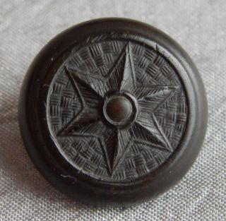 Vintage Goodyear Rubber Button Good Year C1851 Star 230 - B photo