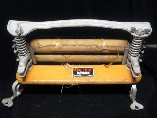 Vintage Antique Ken - Tool Wooden Washer Wringer Nos W 400 Akron Ohio photo