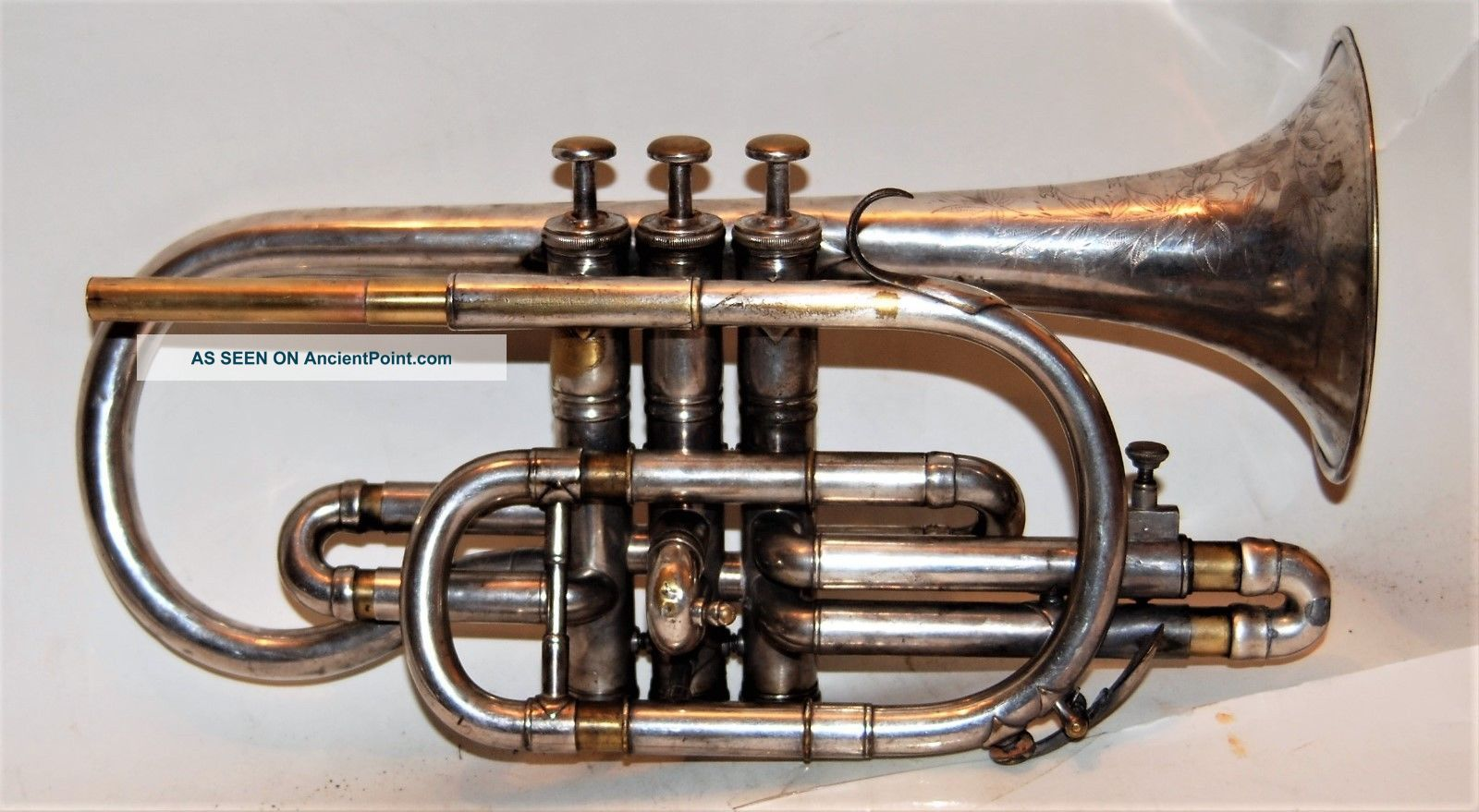 Besson Prototype Cornet - Good Playing Horn 1902 Brass photo