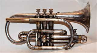 Besson Prototype Cornet - Good Playing Horn 1902 photo