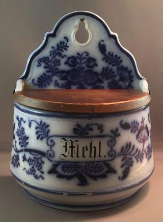 Antique Ceramic German Dutch Flour