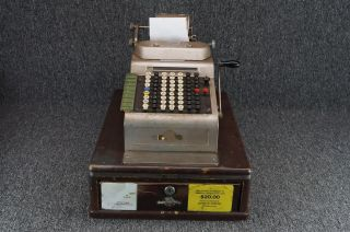 1930 ' S R.  C.  Allen Business Adding Machine Cash Register photo