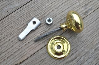 Quality English Made Brass Cupboard Cabinet Turn Knob Latch Door Latch Cb15 photo
